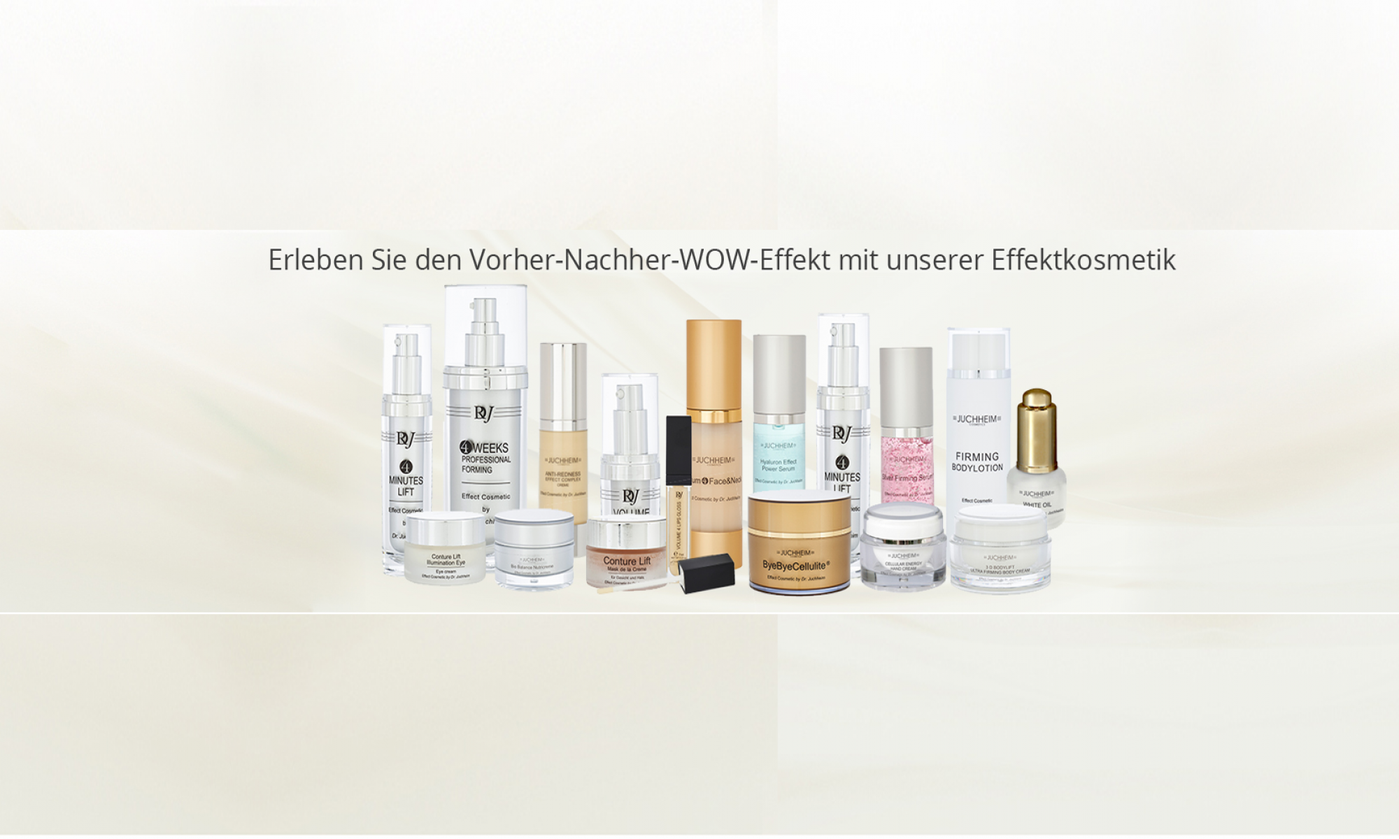 Effect cosmetics by Dr. med. Juchheim in Mainz, Wiesbaden, Frankfurt